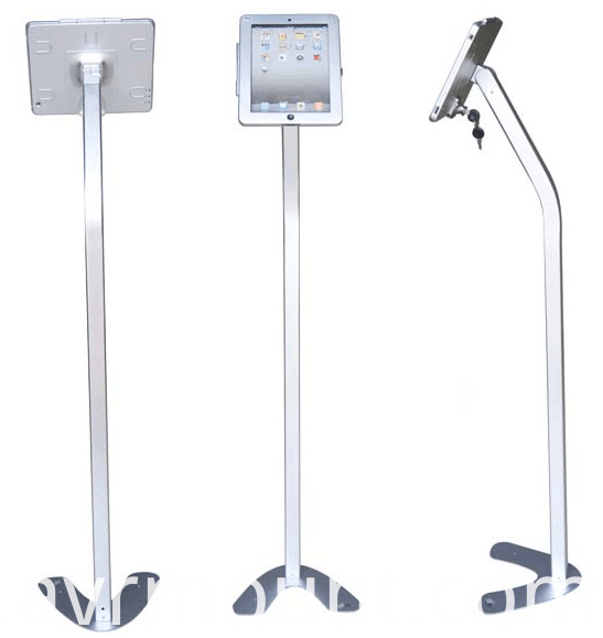P17 ipad floor stand anti-theft