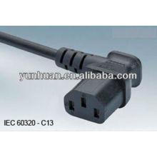 Cable de alimentación cable eléctrico norteamericano