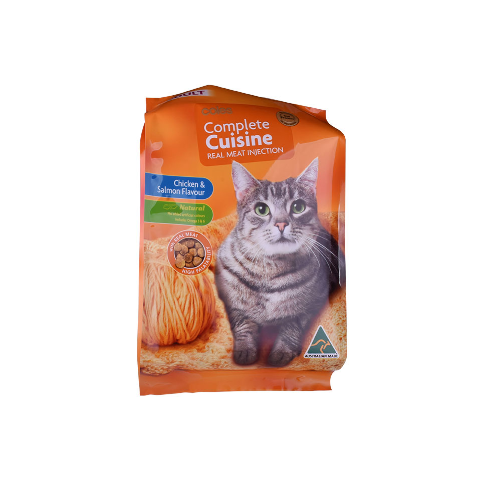 2zipper pet food bag