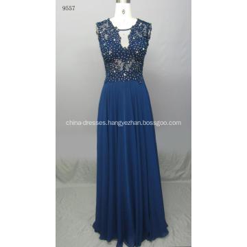 Casual Vibrant V-neck Dress