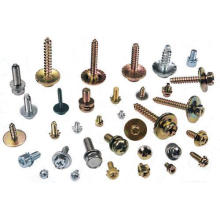 Flat self tapping Combined machine screw