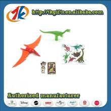 Kids Mini Dinosaur Toy With 3d Stickers