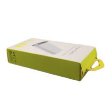 Caixa de empacotamento eletrônica do banco do poder do presente do logotipo feito sob encomenda