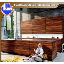 Customized Woodgrain MDF Cabinet Door (ZHUV)