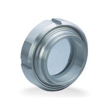 Verre hygiénique en acier inoxydable Ss304 / 316L Union Sight Glass