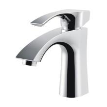 Robinet de lavabo à une poignée en laiton haute qualité en laiton (Q3035)