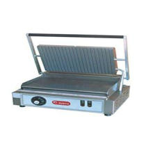 Stainless Steel Panini Grill Machine 7-roller For Restauran