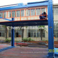 n basement double deck electric hydraulic car lift for home garage