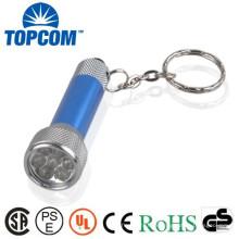 Bright LED Light Logo Mini lampe imprimée avec porte-clés