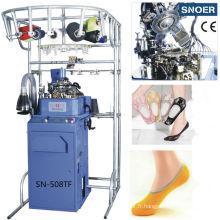 Machine à tricoter pour cinq orteils chaussettes