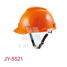Capacete de segurança elétrica da mineração Jy-5521lightweight para o edifício da construção do homem do trabalho pesado