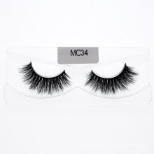 2020 New Style 100% Real Mink Strip Lashes 3D Mink Eyelashes with Customzied Packages