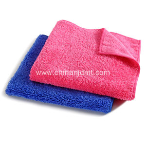Navy and Pink Microfiber Cleaning Towel