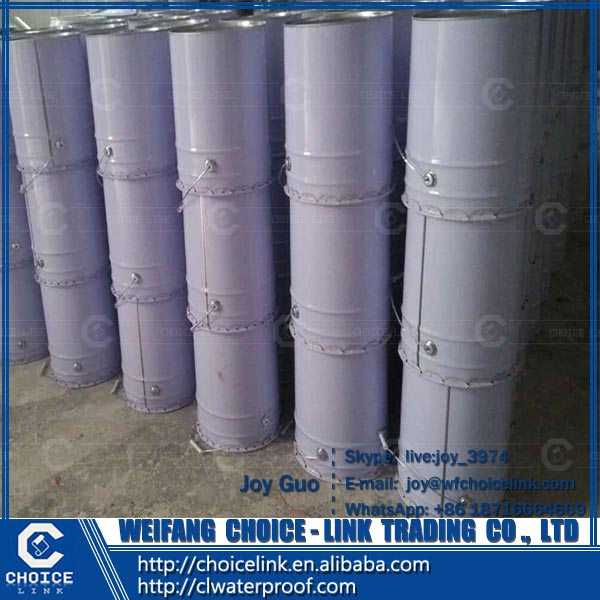 colorful single component polyuerthane PU waterproof coating