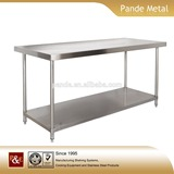 Efficient and durable stainless steel kitchen tables