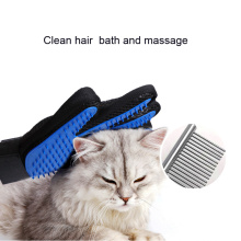 silicone pet massage glove brush