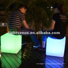 40*40*40cm Color Changing LED Chair