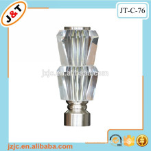 hot sales curtain rod accessories finials manufactured in China