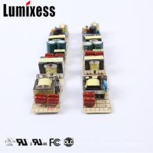 UL cUL FCC metal 12 v 24 v 18 v 19 v 30 v 0.5 a / 500 ma fuente de alimentación led para tubo T5