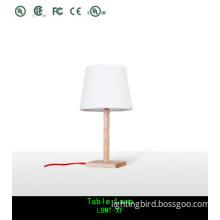 Simple Design Fabric Shade Desk Lamp / Table Lamps Lighting