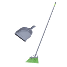 Cleaning supplies broom and dustpan combo for home kitchen room