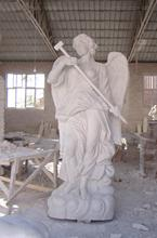 White Marble Religious Large Size  Angel Statue