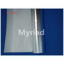 Aluminum foil fiber glass insulation for rock wool,glass wool,pipe coating,etc.