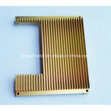 Peças de alumínio CNC Usinagem radiador de alumínio