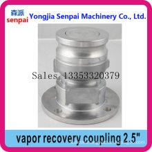 Tank Truck Parts 2.5inch Vapor Recovery Coupling