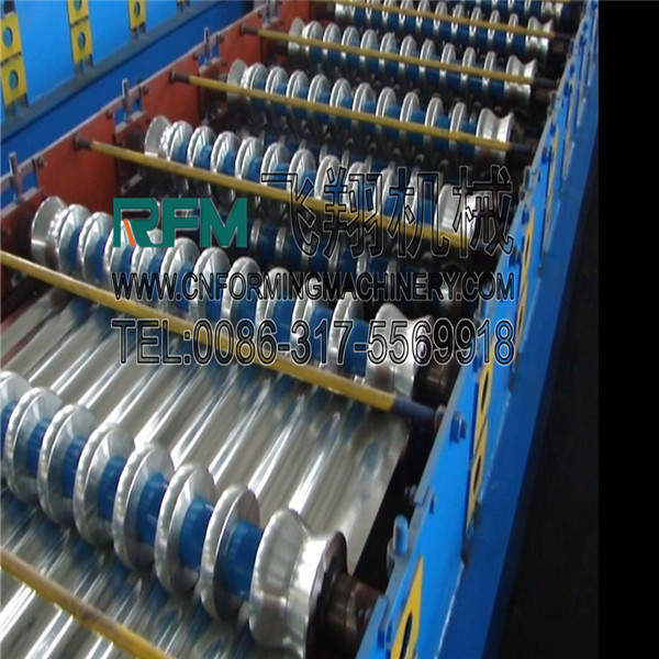 galvanized corrugated sheets roofing tile making machine