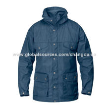 Men's classic jacket, made of durable and adaptable fabric, OEM orders are welcome