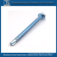 White Zinc Plated Roofing Drilling Screws