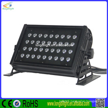 Square shape Led flood light 36x3w RGB led wall washer