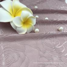 New design mesh jacquard nylon spandex fabric for bra underwear
