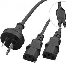 3 way extension cord splitter, 3 way splitter cable,c19 c20 plug socket