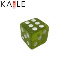 15мм дешевые прямые угловые зеленого цвета с белыми точками кости