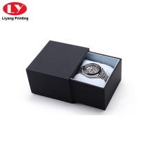 Luxus benutzerdefinierte Logo Schublade Uhrenbox für Männer
