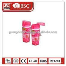 small clear plastic soda bottles