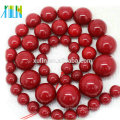 AAA grade natural red shell freshwater pearls beads