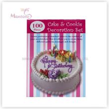 Ustensiles de cuisson Gâteau Outils 100 PCS Cake Cookie Décoration (ensemble)