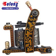 Solong TK105-60 Beginner Tattoo Kit with Tattoo Gun Power Supply Tattoo Kits With Needles