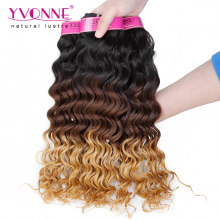 Top Quality Human Hair Extension Ombre Peruvian Hair