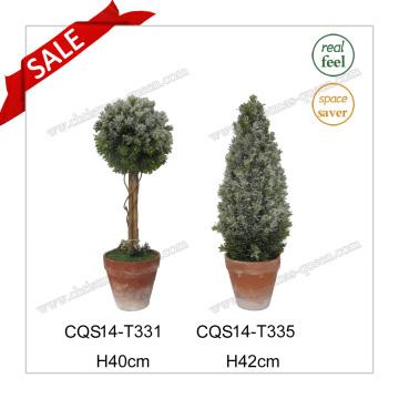 H40cm Plastic Outdoor Decoration Evergreen Grass Artificial Plant