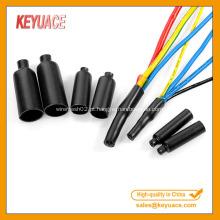 Mini cabo PVC termorretracção de vedação tampa