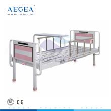 AG-BYS202 Al-Legierung Handläufe pediatric hydraulische Metall Krankenhaus manuelle Kinderbett