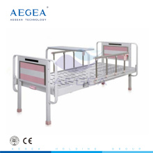AG-BYS202 Al-alloy handrails pediatric hydraulic metal hospital manual child bed