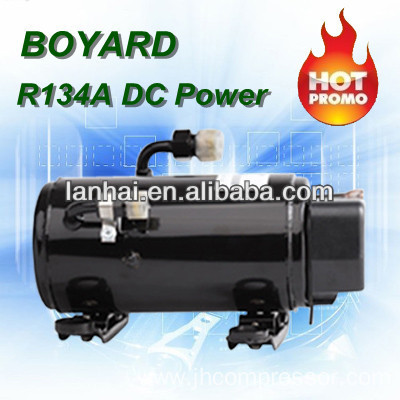 R134a brushless dc 12v refrigeration ac compressor for for Air compressor for pool closing