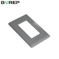 Fábrica OEM diseño venta por mayor GFCI placas de interruptor eléctrico