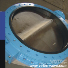 Lever Operated Cast Steel RF Flange Marine Butterfly Valve