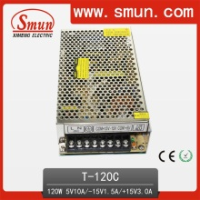 120W 5V10A -15V1.5A 15V3.0A Triple Output Power Supply SMPS